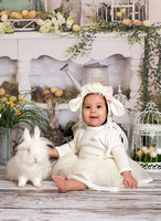 Annabella's Easter Portraits