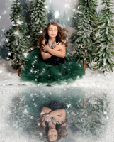 Klaudia's Winter Whimsical Portraits
